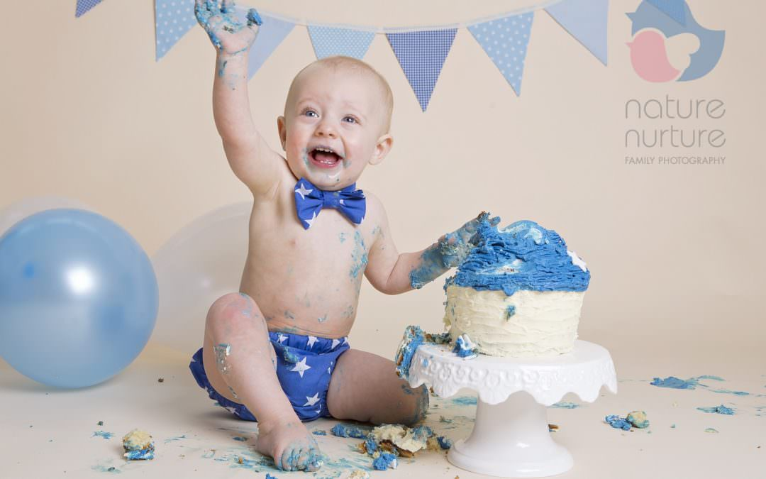 Cake Smash Photography Session in Winchester